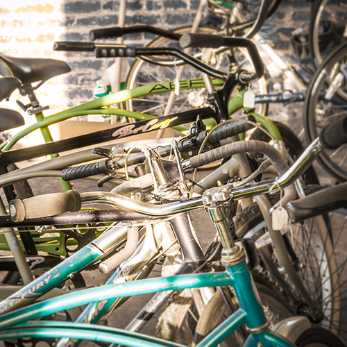 Classic bicycles by J.L. O'Brien